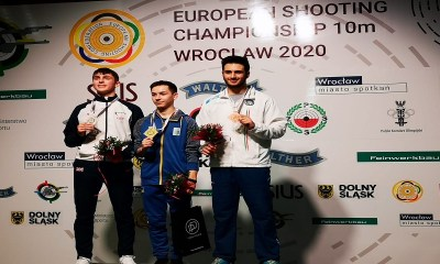 Il podio per Federico Maldini a Wroclaw (POL)