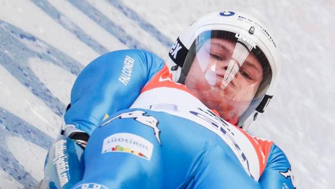 slittino coppa del mondo 2020 winterberg dominik fischnaller italia italy luge world cup team relay seconda germania germany slittino su pista artificiale