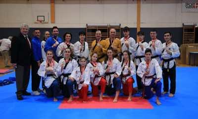 taekwondo austrian open 2020 12 medaglie vittoria italia italy vienna 12 medals poomsae oro argento bronzo