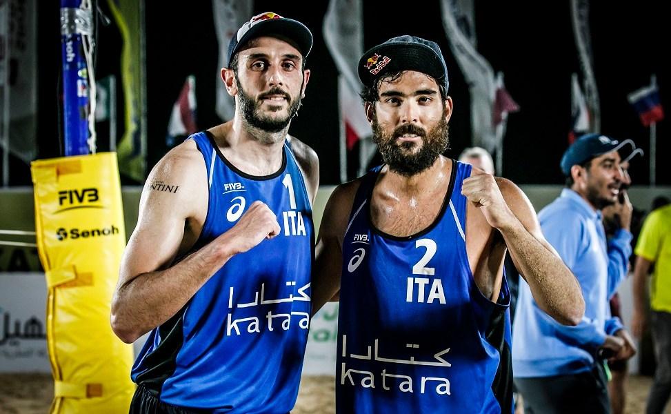 Lupo & Nicolai al torneo 4 stelle di Doha (QAT), tappa del Beach Volley World Tour 2020