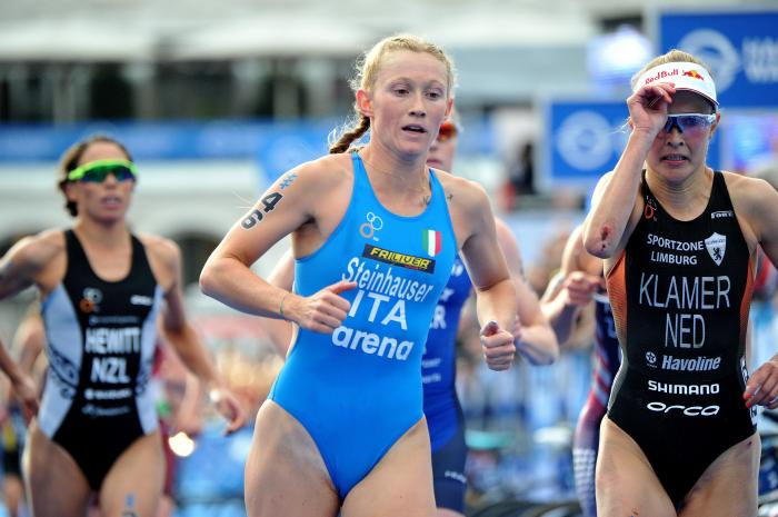triathlon coppa del mondo 2020 karlovy vary verena steinhauser italia italy world cup world triatlhon series world championships amburgo hamburg repubblica ceca germania