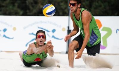 Ranghieri/Sablone a Montpellier (FRA) per una tappa del Beach Volley World Tour 2020