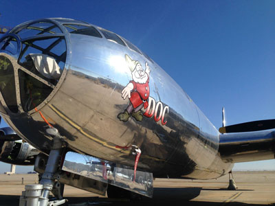 B-29 Doc is schedule for first flight Sunday, July 17 with wheels up around 8:30 a.m. CDT.