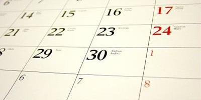 Wedstrijdkalender 2019-2020