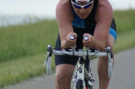 Goede triathlon Erik Huisman