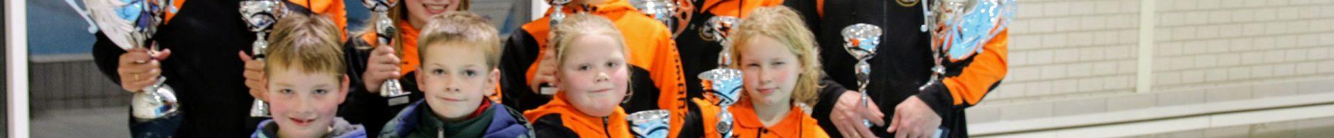 Lisman, Groeneveld, Wijnja en Cornet clubkampioenen Biesboschzwemmers
