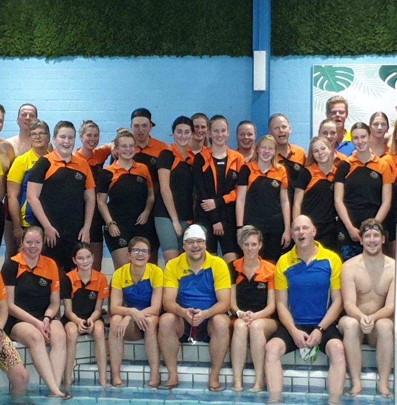 Bijna 84 kilometer voor Biesboschzwemmers