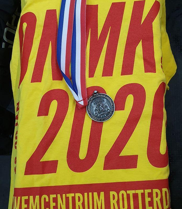 ONMK2020kb: Annette Wijnja zilver op de 200 schoolslag