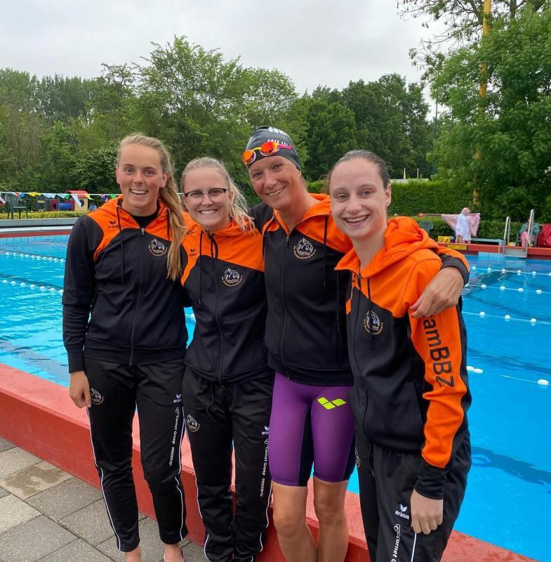 Plezier tijdens tweede wedstrijd Biesboschzwemmers