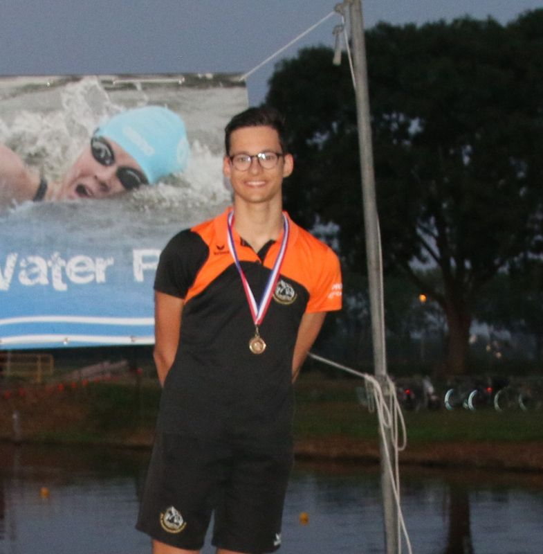 Twee titels tijdens eerste dag ONK open water