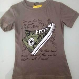 T-shirt χακί 151254