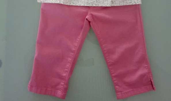 Παντελόνι ροζ 16415