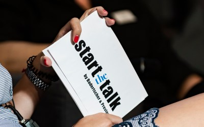 »start the talk« – A new event series that connects start-ups with experts, investors, and business angels