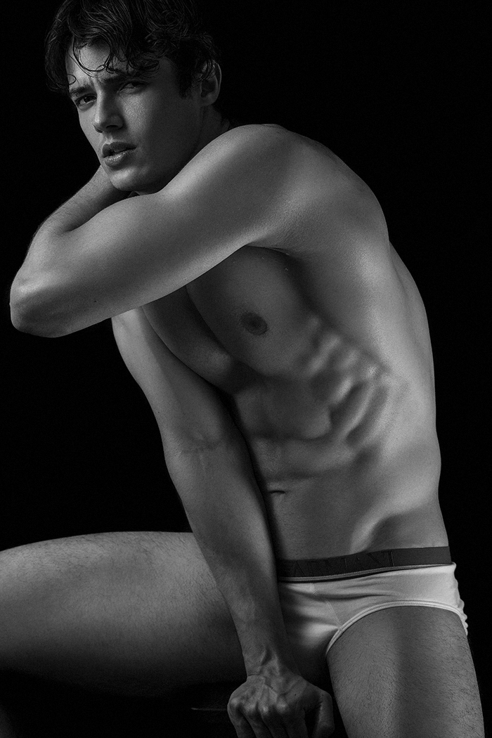Jorge Rodrigues by Alisson Marks in his Emporio Armani