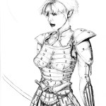 Shiraka in Armor