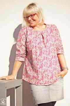 Blusenshirt Kim aus Baumwolle