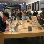 busy apple store shows why seo is a process - cause things are constantly changing