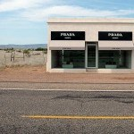 Image of a Prada window display in the desert is a good analogy for how to explain seo benefits in layman's terms