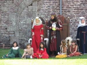 Koning Arthur en Guinevere