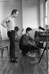 Brian Eno and David Byrne