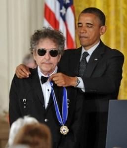 Bob Dylan and Obama