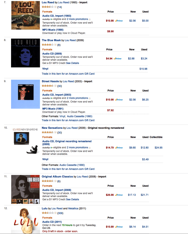 Lou Reed Sold Out 2013 10 27 at 10 13 40 PM