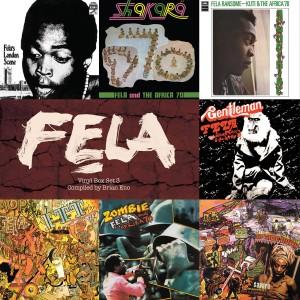 Fela Kuti Box Set 3 - Brian Eno