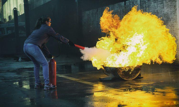 incendies industriels