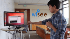 Wi-Fi based gesture recognition, developed by computer scientists at the University of Washington?
