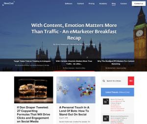 content marketing case - B2B - newscred