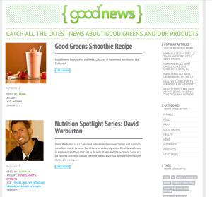 content marketing case small food company