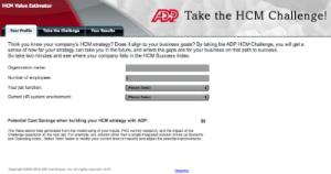 content marketing case - B2B - ADP