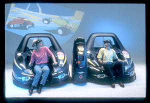 virtual reality arcade pods - fourth digital transformation