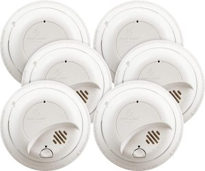 hard wired smoke detectors