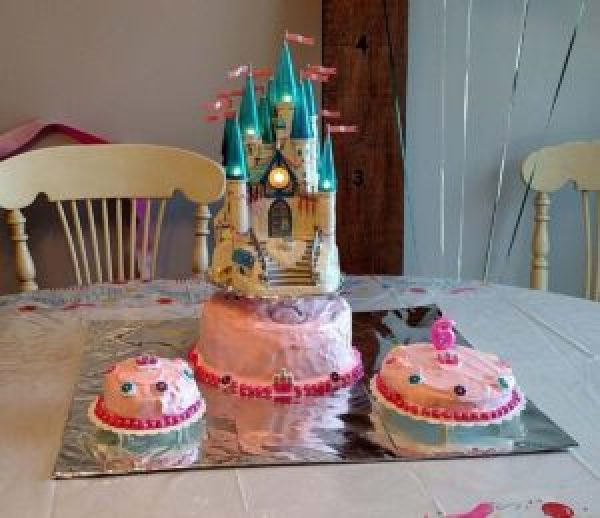 Cinderella Castle Birthday Cake B4 And Afters