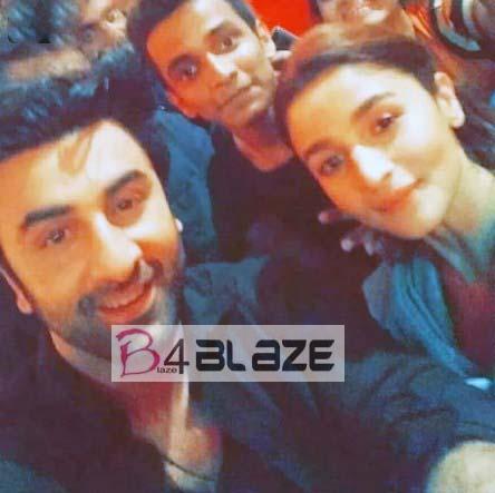Party pictures of Alia Bhatt and Ranbir Kapoor 5