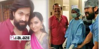 Radhika Pandit admitted to hospital