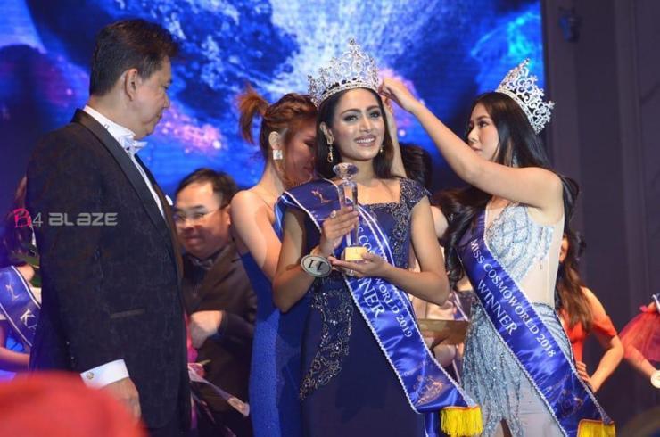 Miss Cosmo World 2019 Sandra Soman
