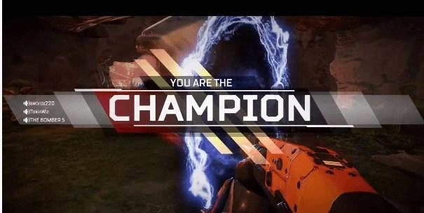 Apex legends Champion