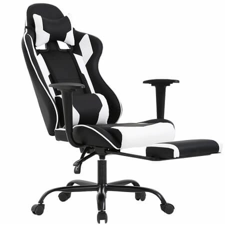 Ergonomic Office Chair PC Gaming Chair Desk Chair PU Leather Racing Chair