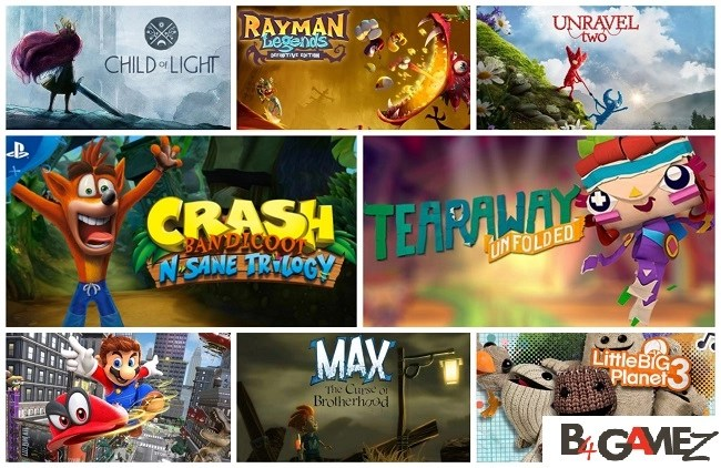 B4Gamez Expert Gamers List: 19 Best Video Games for Kids and Family 2019 2
