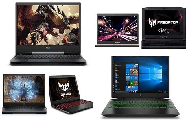Top 10 Best Gaming laptops under $1000