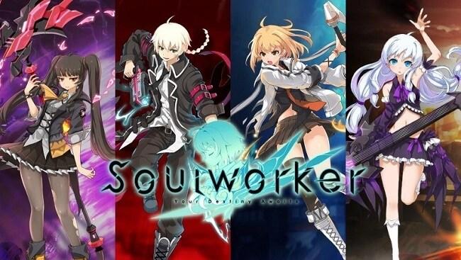 Burning Soul Worker - Best Anime MMORPG