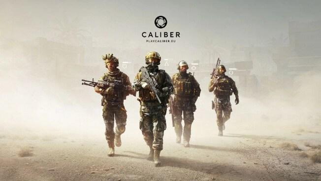 Caliber video game