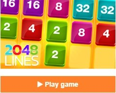 2048 Lines video game online