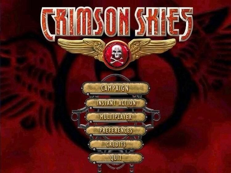 Crimson Skies (2000)