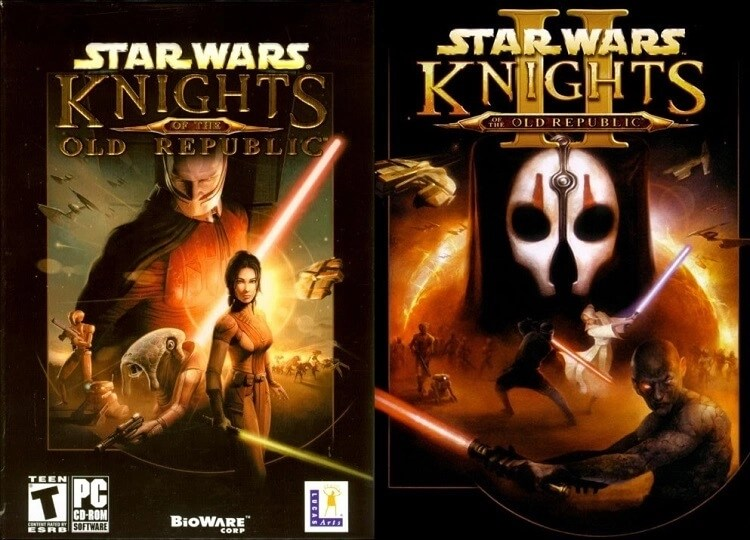 Knights of the Old Republic I & II (2003 & 2004)