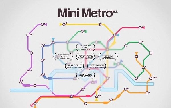 Mini Metro Android game