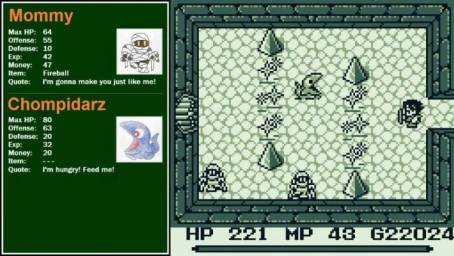 Final Fantasy Adventure 2 gameplay