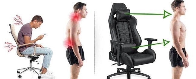Are gaming chairs good for back pain? 4